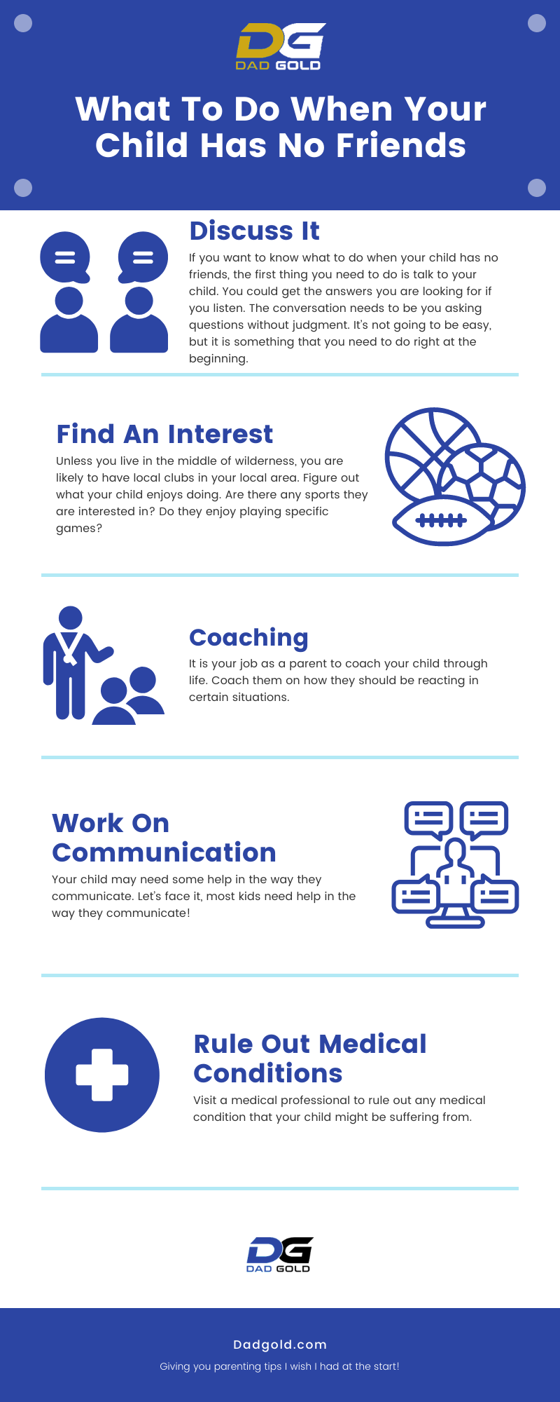 What To Do When Your Child Has No Friends Infographic