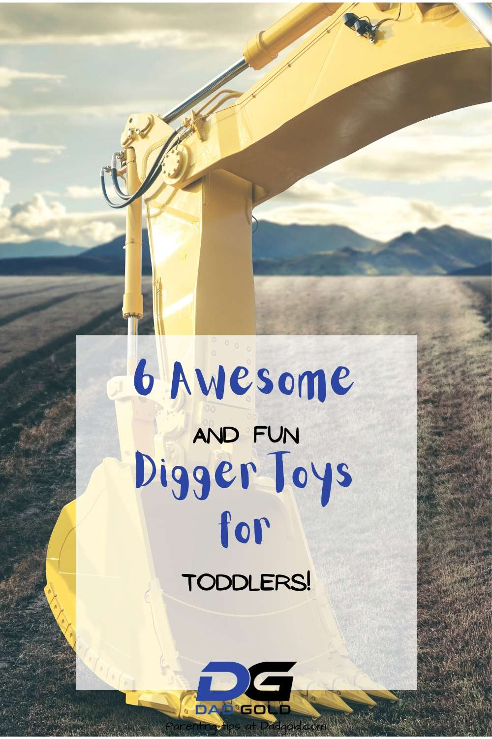 digger toys for toddlers