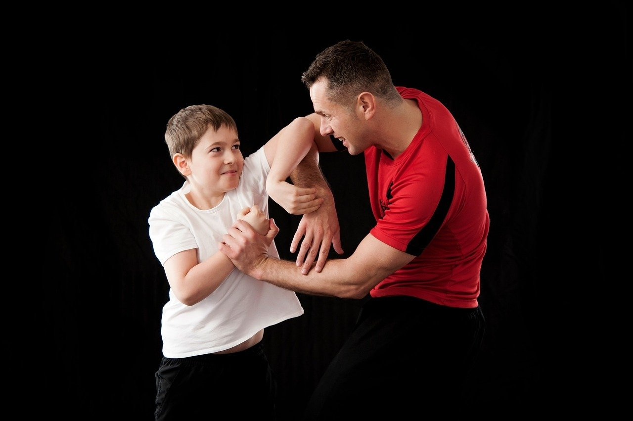 Teach your kid self defence