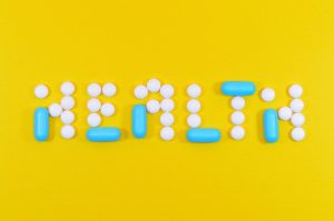 vitamin tablets spelling health