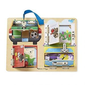 Melissa and Dough Lock Board with Keys and Locks