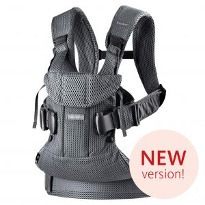 BABYBJORN Baby Carrier One Air, with back support