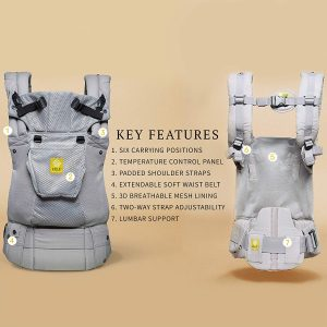LILLEbaby Complete baby carried with back support