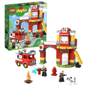 Lego Duplo Fire Station Toy for Toddlers