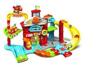 Toot-Toot Drivers Refresh Fire Station toy