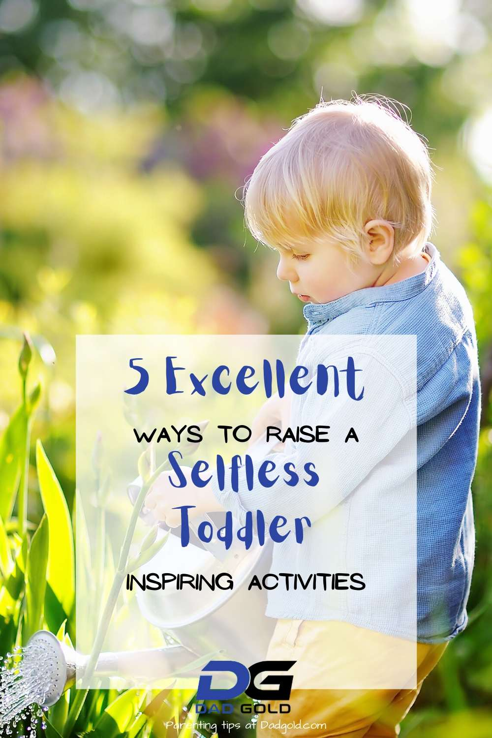 Teach Selflessness To Your Toddler