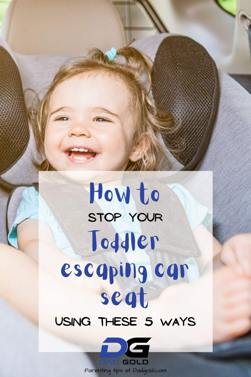 stop toddler escaping car seat