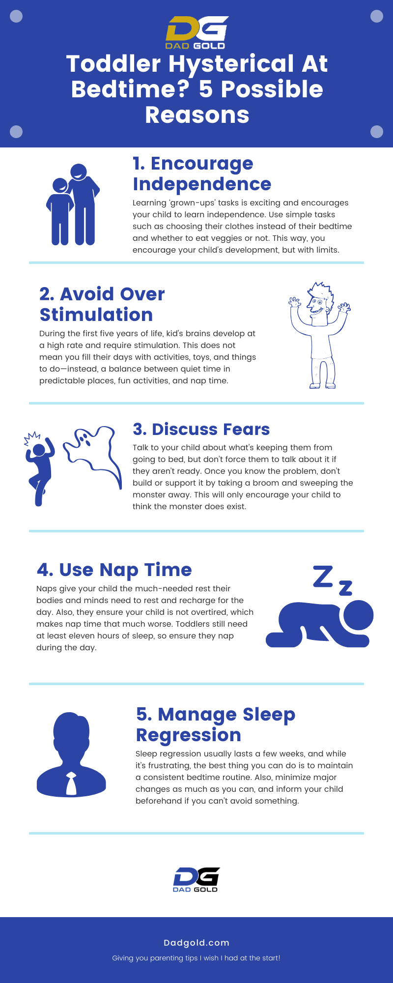 4 Year Old Bedtime Battles and How to Overcome Them Infographic