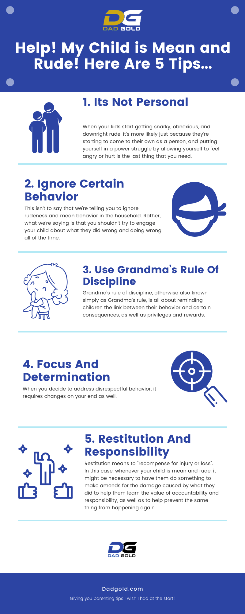Help My Child is Mean and Rude Here Are 5 Tips Infographic