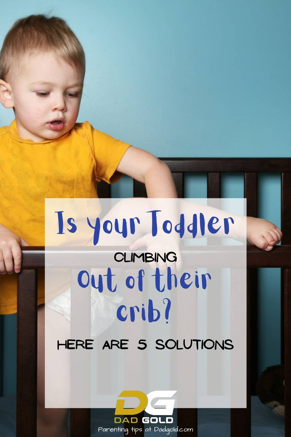 Is your Toddler climbing out of crib