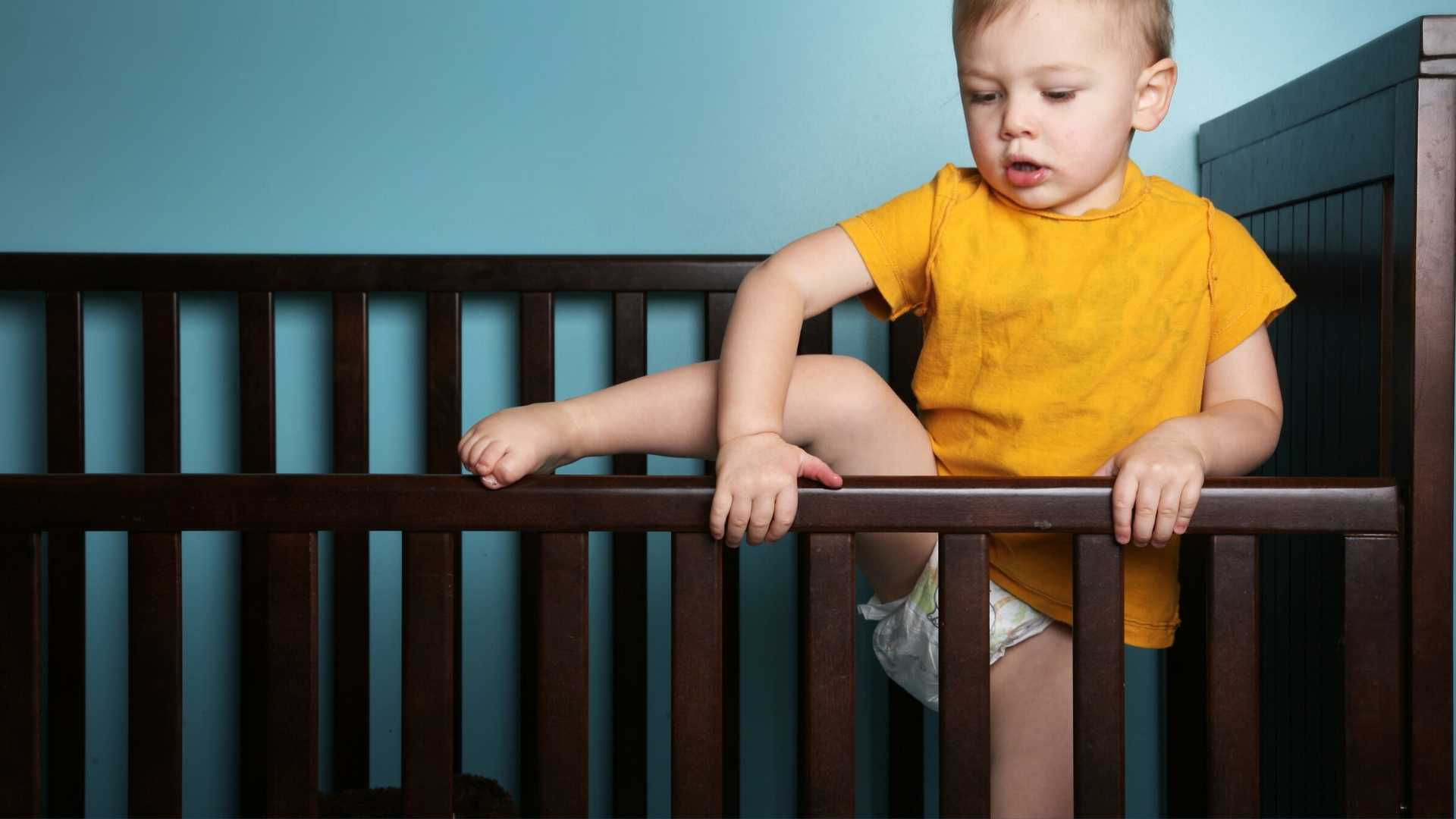Toddler Climbing Out Of Crib what you can do