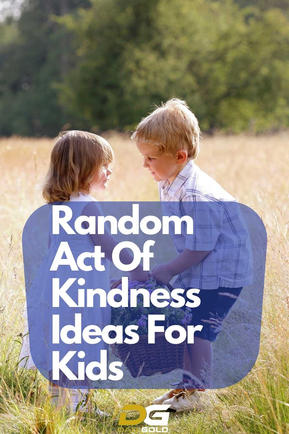 Random Act Of Kindness Ideas For Kids
